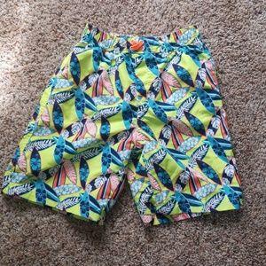 Boys size 6 swim trunks.